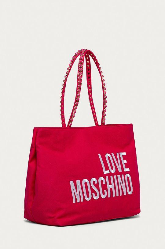 Love Moschino - Kabelka  Podšívka: 100% Polyester Hlavní materiál: 100% Bavlna