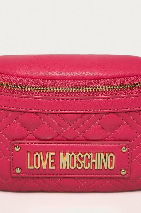 fuchsiová Love Moschino - Ledvinka