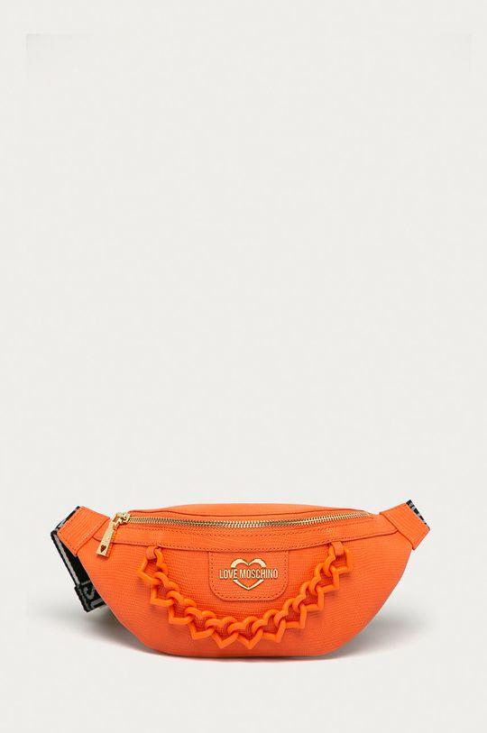 oranžová Love Moschino - Ledvinka Dámský