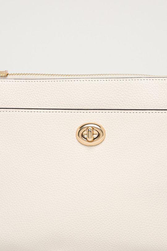 Coach - Kožená kabelka biela