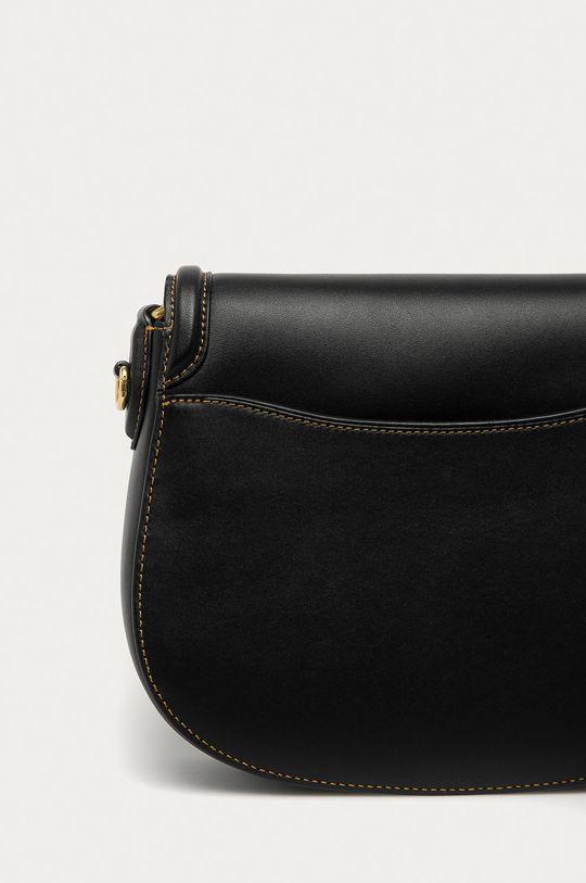 černá Coach - Kožená kabelka