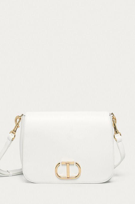biela Twinset - Kožená kabelka Dámsky