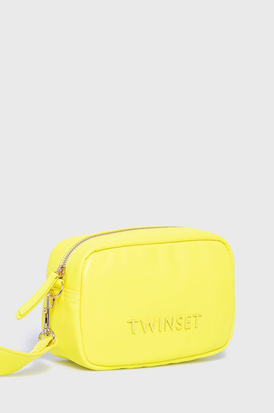 Twinset - Kabelka žlto-zelená