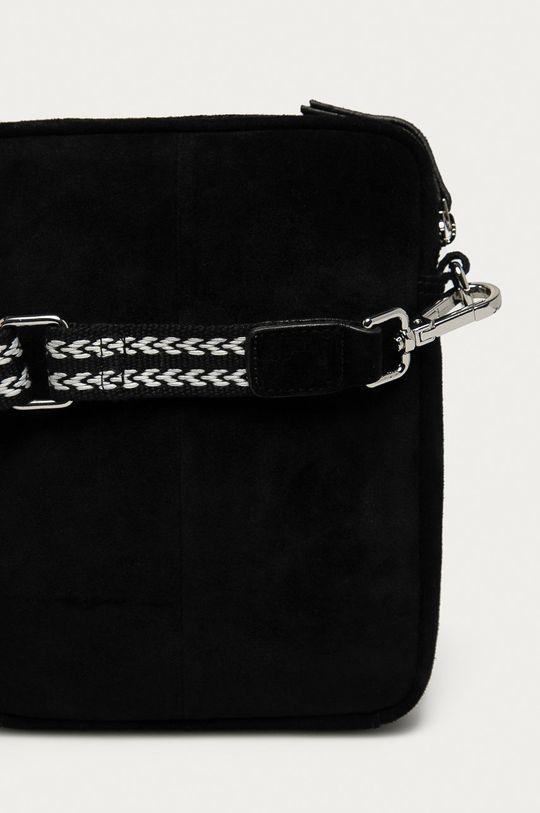 čierna Only - Semišová kabelka