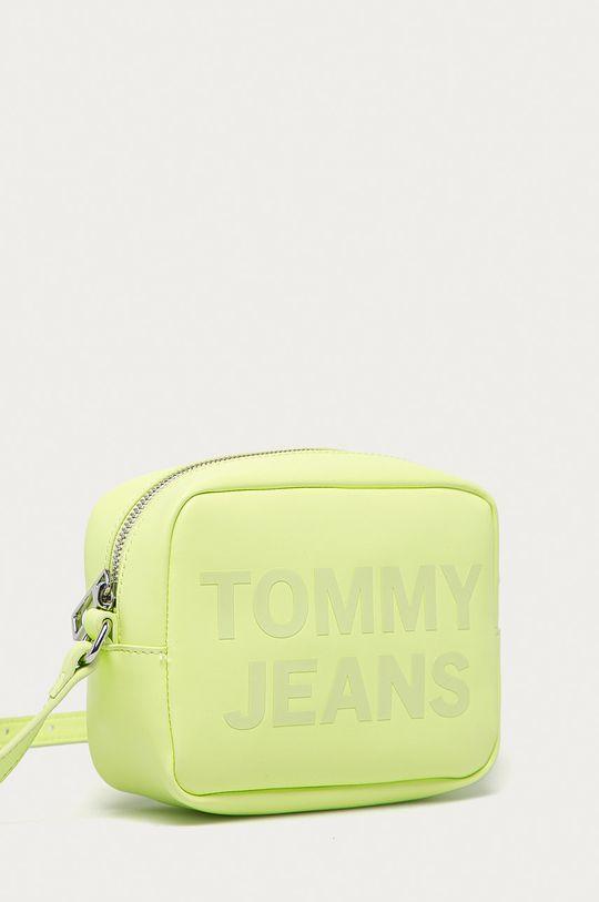 Tommy Jeans - Kabelka žlto-zelená