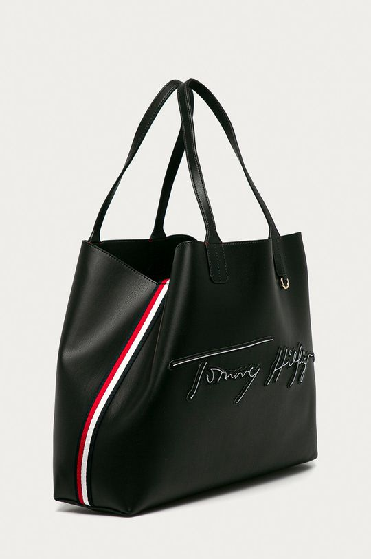 Tommy Hilfiger - Poseta negru