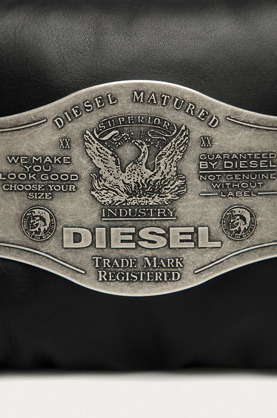 Diesel - Torebka skórzana czarny
