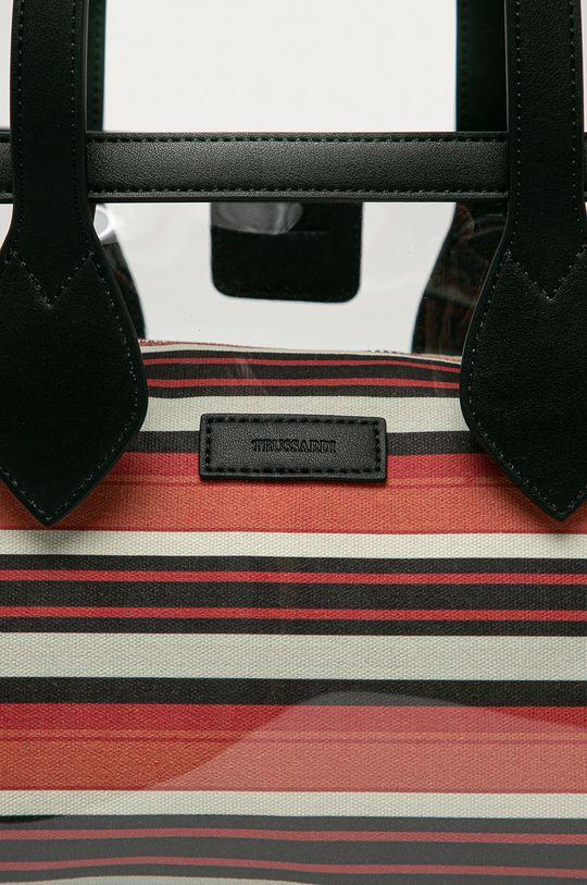 Trussardi Jeans - Kabelka průhledná