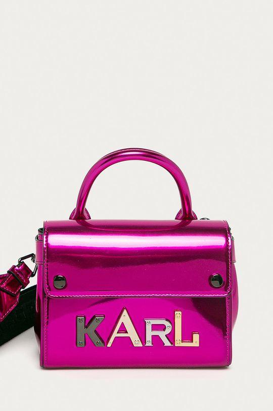 ostry różowy Karl Lagerfeld - Torebka Damski