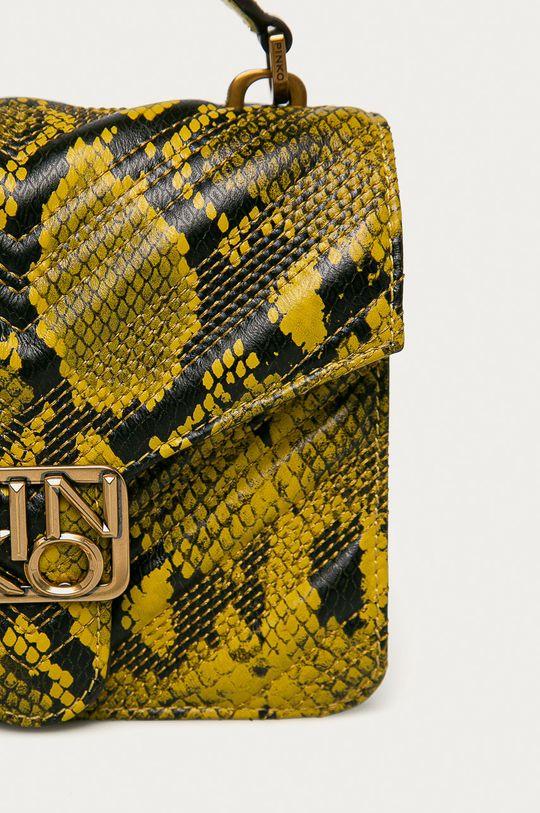 žlutá Pinko - Kožená kabelka