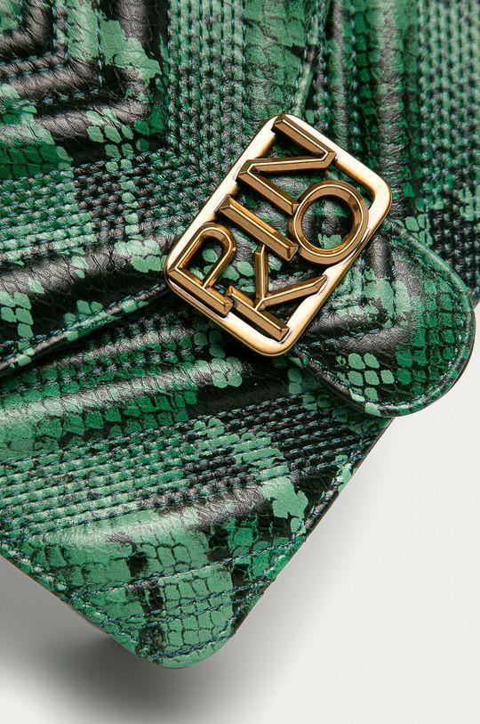 Pinko - Kožená kabelka zelená