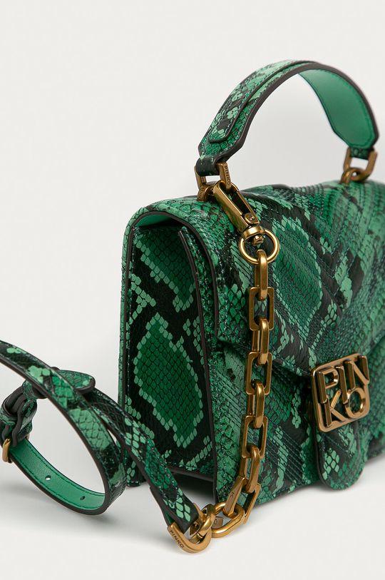 zelená Pinko - Kožená kabelka