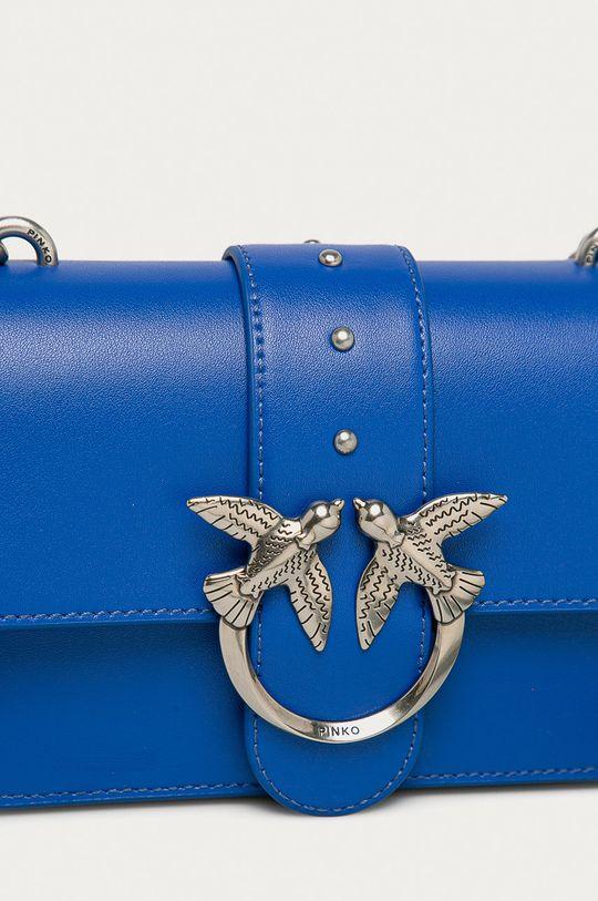 modrá Pinko - Kožená kabelka