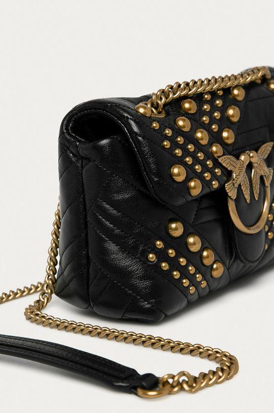 čierna Pinko - Kožená kabelka
