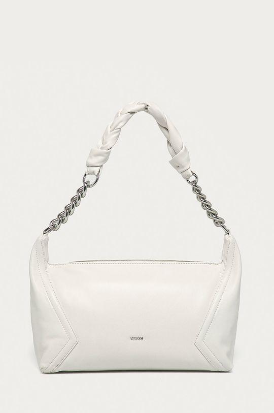 biela Pinko - Kožená kabelka Dámsky