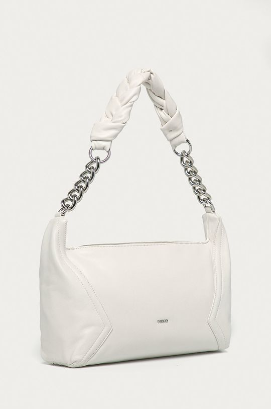 Pinko - Kožená kabelka biela