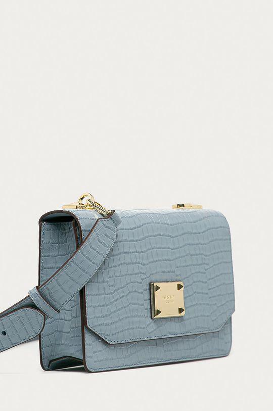 Dkny - Kožená kabelka modrá