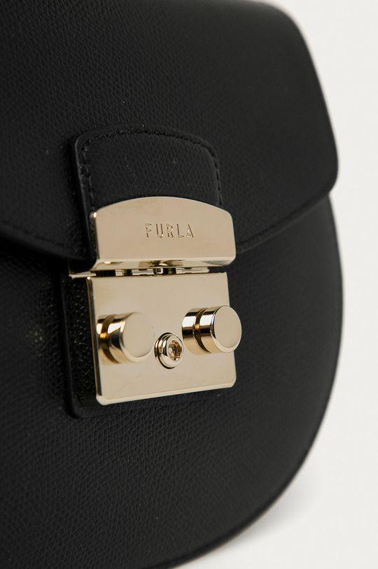 Furla - Kožená kabelka Metropolis  Základná látka: 100% Prírodná koža