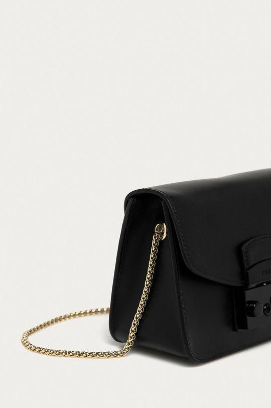 Furla - Kožená kabelka Metropolis Mini  100% Prírodná koža