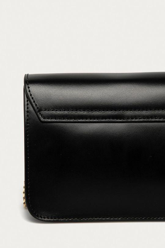 čierna Furla - Kožená kabelka Metropolis Mini