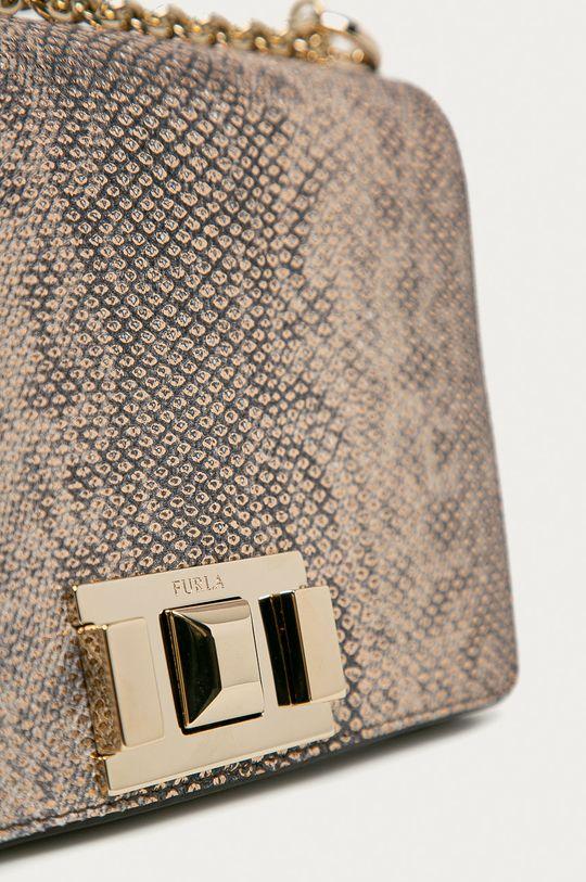 Furla - Kožená kabelka Mimi Mini  100% Přírodní kůže