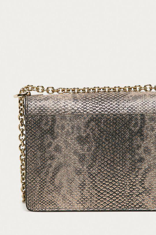 zlatá Furla - Kožená kabelka Mimi Mini