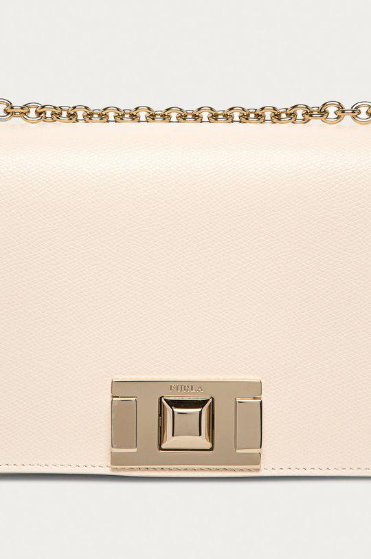 Furla - Kožená kabelka Mimi bílá