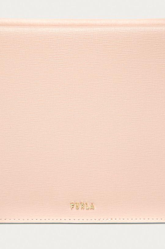 Furla - Kožená kabelka Babylon Mini růžová
