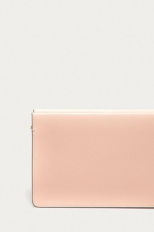 růžová Furla - Kožená kabelka Babylon Mini