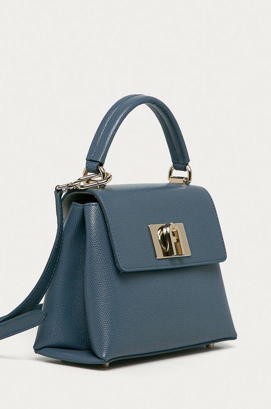 Furla - Torebka skórzana 1927 jasny niebieski