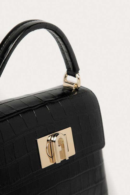 Furla - Kožená kabelka 1927 Mini černá