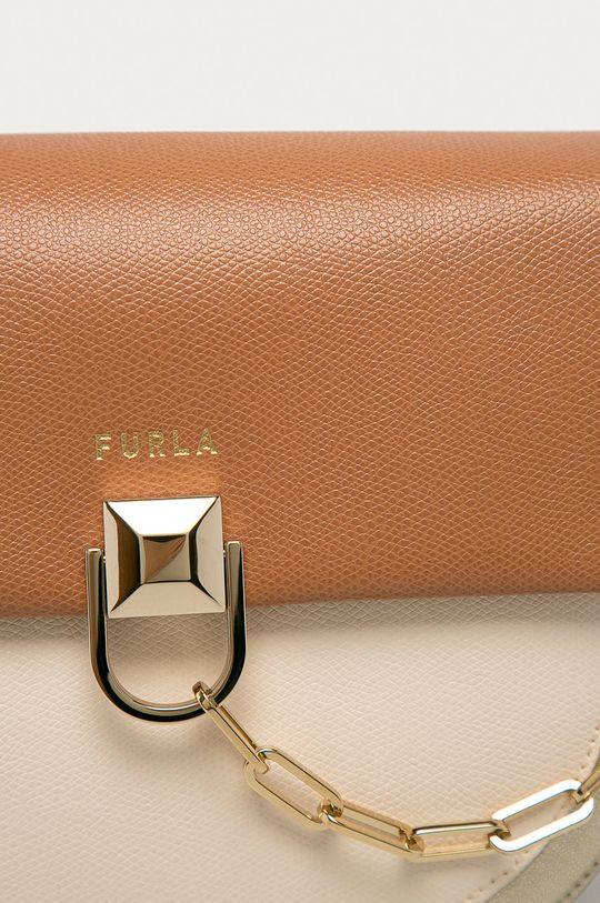 Furla - Kožená kabelka Miss Mimi tělová