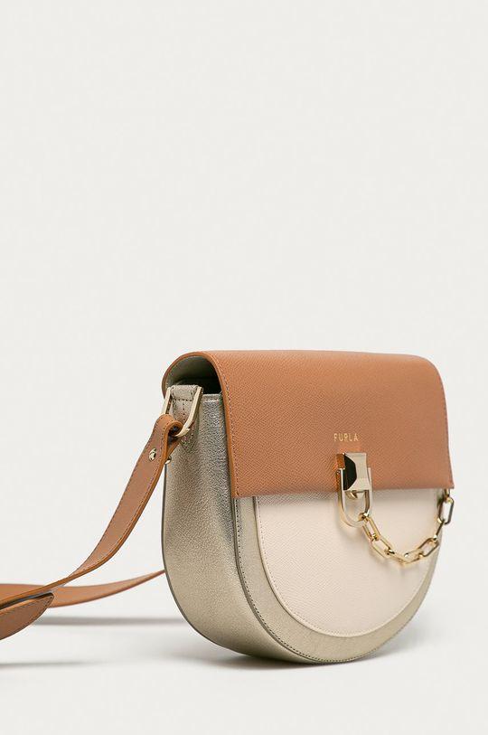Furla - Kožená kabelka Miss Mimi  100% Přírodní kůže