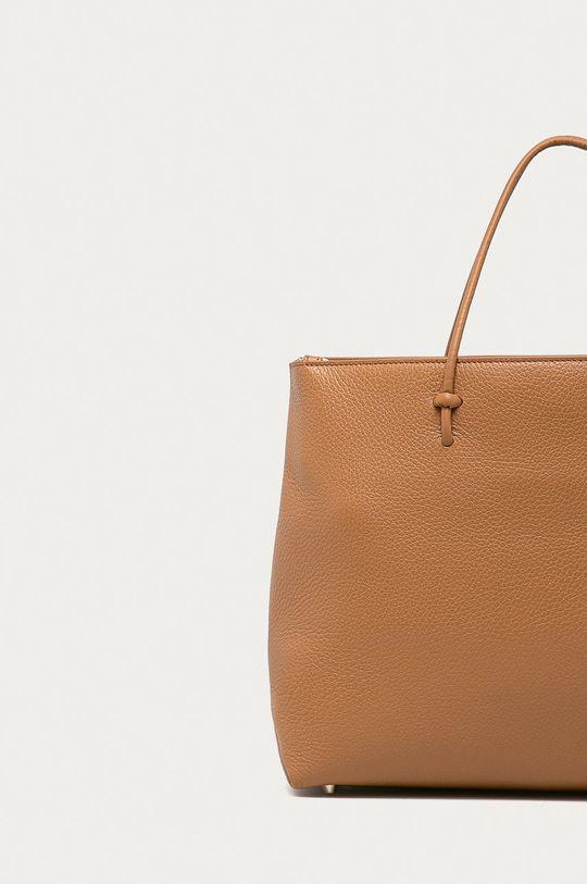 Furla - Kožená kabelka Essential  Přírodní kůže