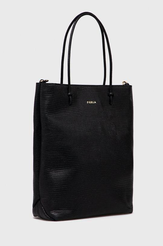 Furla - Kožená kabelka Essential  100% Přírodní kůže