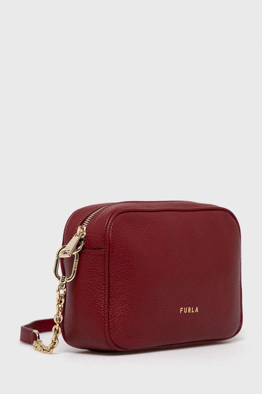 Furla - Kožená kabelka Real  Podšívka: 100% Polyester Hlavní materiál: 100% Přírodní kůže