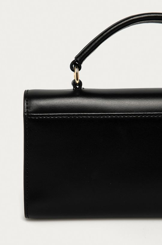 černá Furla - Kožená kabelka Metropolis Mini