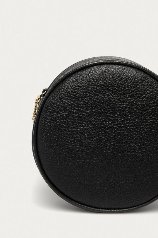 černá Furla - Kožená kabelka Real