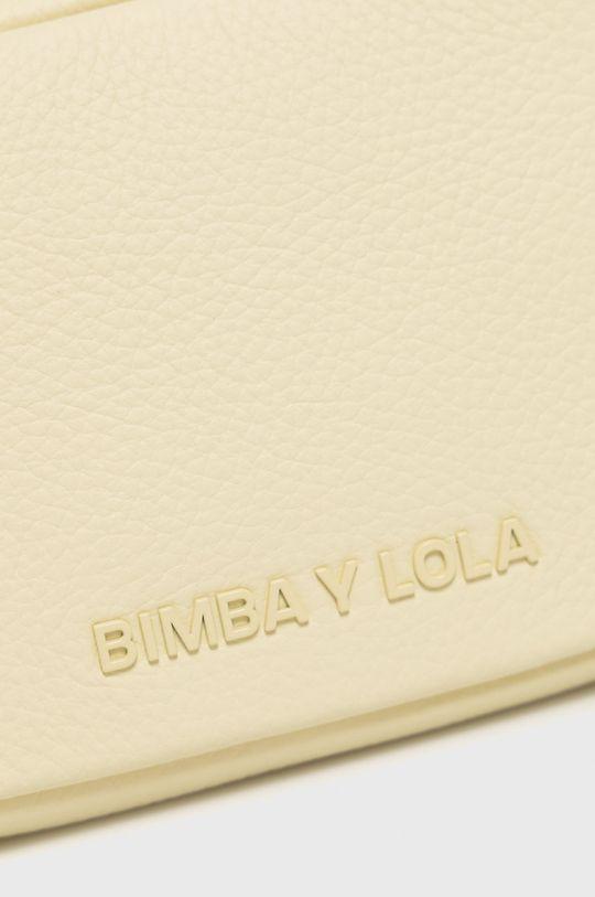 žltá BIMBA Y LOLA - Kožená kabelka
