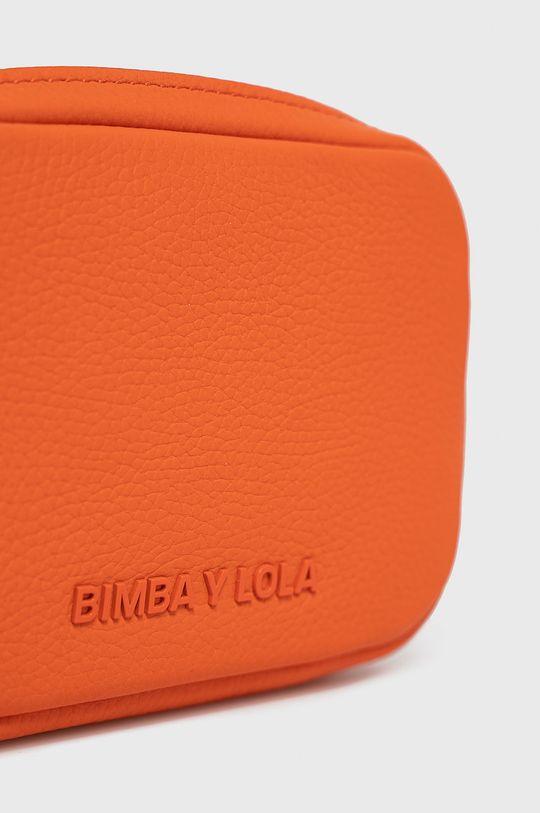BIMBA Y LOLA - Torebka skórzana pomarańczowy