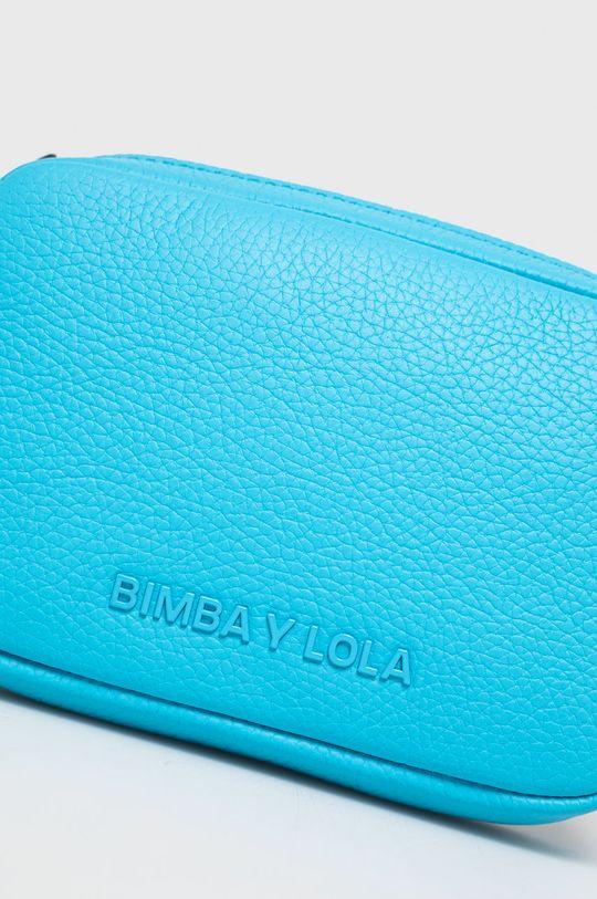 BIMBA Y LOLA - Torebka skórzana niebieski