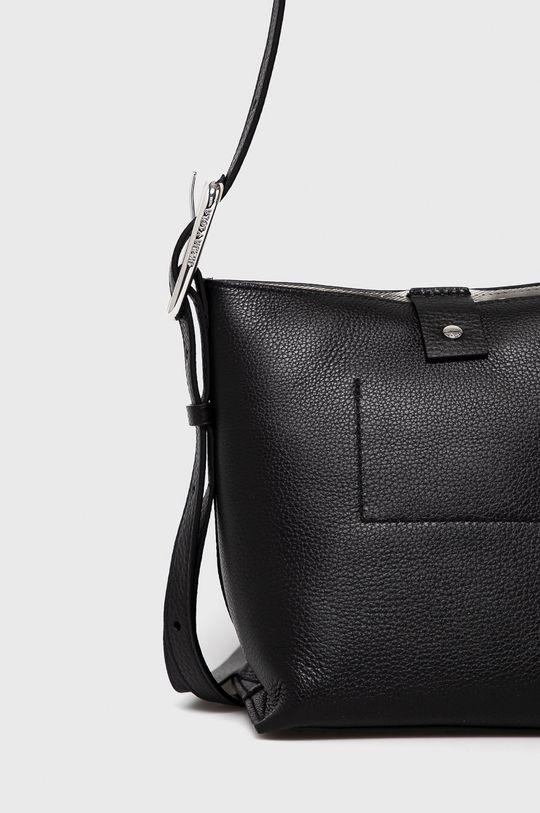 čierna BIMBA Y LOLA - Kožená kabelka