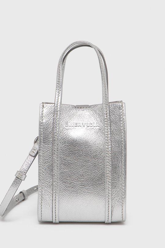stříbrná BIMBA Y LOLA - Kožená kabelka Dámský