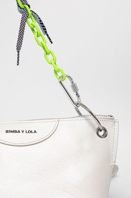BIMBA Y LOLA - Kožená kabelka bílá