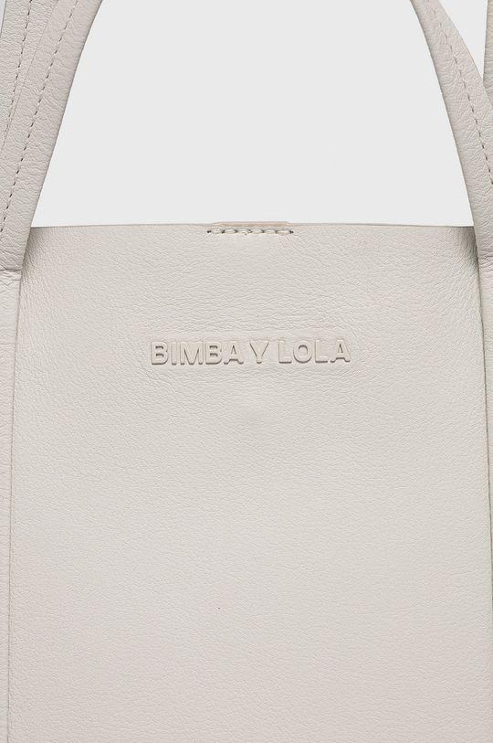 BIMBA Y LOLA - Torebka skórzana biały