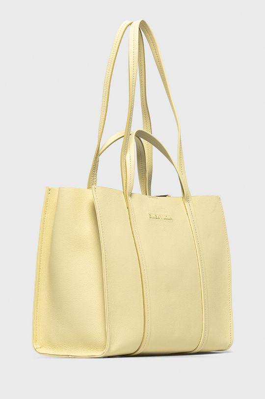 BIMBA Y LOLA - Kožená kabelka  Podšívka: 99% Bavlna, 1% Přírodní kůže Hlavní materiál: 100% Přírodní kůže
