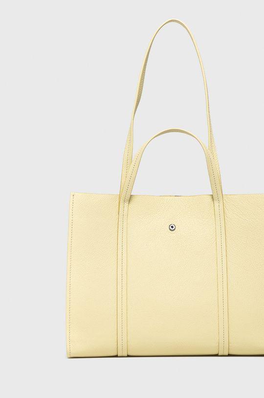 žlutá BIMBA Y LOLA - Kožená kabelka
