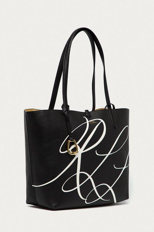 Lauren Ralph Lauren - Oboustranná kabelka černá