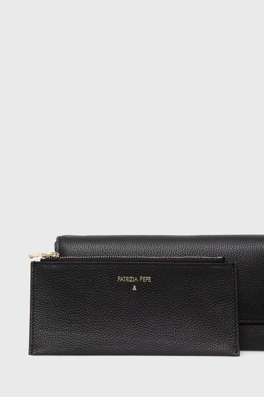 Patrizia Pepe - Kožená peněženka černá