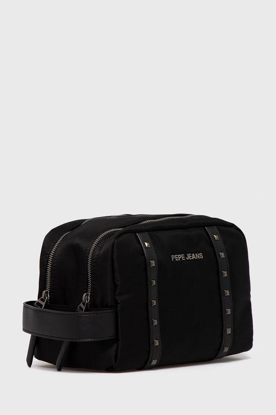 Pepe Jeans - Kozmetická taška Roxanne čierna